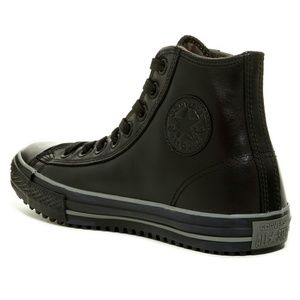 dfa5e333cdc7 Converse Shoes - Converse CT Mid Leather 3M Thinsulate Black Boot